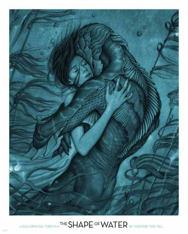 The-Shape-of-Water-Poster-by-James-Jean